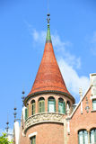 Casa Terrades, Eixample District, Barcelona, Spain Royalty Free Stock Photo