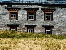 Casa tibetana Imagen de archivo