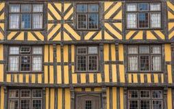 Casa Timber-Framed Foto de archivo