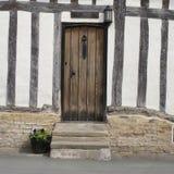 Casa Timber-framed em East Anglia foto de stock