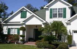 Casa a timpano in tropici Immagine Stock Libera da Diritti