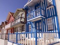 Casa tipica del pescatore in Cos Immagini Stock