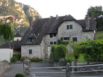 Casa tipica del villaggio Fotografia Stock Libera da Diritti