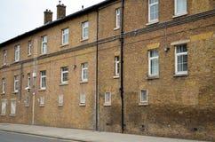 Casa tipica dell'Inghilterra nella città di Londra Fotografia Stock