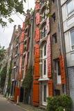 Casa tipica della pietra del mattone di Amsterdam Fotografia Stock Libera da Diritti