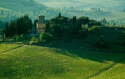 Casa toscana, Italia Imágenes de archivo libres de regalías