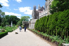 casa trädgårds- loma Royaltyfri Bild