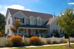 Casa tradicional Imagem de Stock Royalty Free