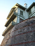 Casa tradicional de Istambul Foto de Stock