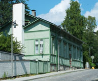 Casa tradicional de madeira velha Imagens de Stock