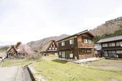 Casa tradicional de Shirakawago imagens de stock royalty free