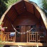 Casa tradicional de Suku Sasak Fotografia de Stock Royalty Free