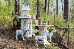 Casa tradicional del alcohol en el bosque, Tailandia Fotografía de archivo