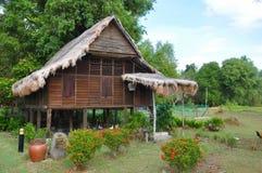 Casa tradicional del Malay Foto de archivo libre de regalías