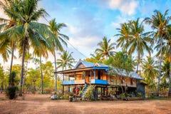 Casa tradicional em Gili Air Imagens de Stock