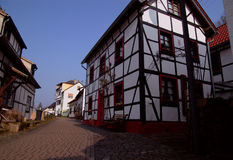 Casa tradicional en Alemania imagenes de archivo
