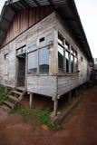 Casa tradicional en kalimantan Fotos de archivo libres de regalías