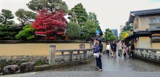 Casa tradicional en Kyoto, Japón Fotografía de archivo