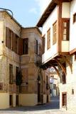 Casa tradicional en la ciudad de Xanthi Imágenes de archivo libres de regalías