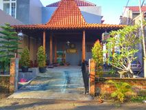 Casa tradicional Jogja Imagem de Stock Royalty Free