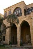 Casa tradicional libanesa en Batroun, Líbano Fotografía de archivo
