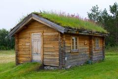 Casa tradicional noruega vieja Foto de archivo libre de regalías