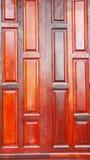 Casa tradicional tailandesa del modelo de madera de la pared Fotografía de archivo