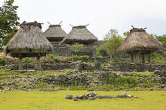 Casa tradicional Timor-Leste Fotografia de Stock Royalty Free