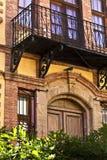 Casa tradicional velha imagem de stock