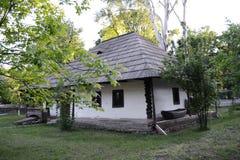 Casa tradicional velha foto de stock
