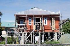 Casa tradizionale in Chiloe, Cile Fotografia Stock Libera da Diritti