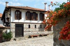 Casa tradizionale da Zlatograd, Bulgaria Fotografia Stock Libera da Diritti