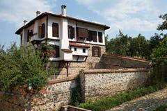 Casa tradizionale da Zlatograd, Bulgaria Immagine Stock
