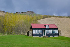 Casa tradizionale del villaggio Immagine Stock Libera da Diritti