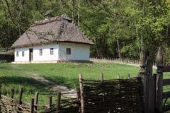 Casa tradizionale dell'Ucraina Immagini Stock