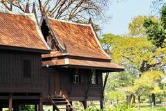 Casa tradizionale della Tailandia Immagine Stock