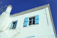 Casa tradizionale di Kythera Immagine Stock Libera da Diritti