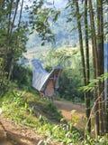 Casa tradizionale di Toraja Fotografia Stock Libera da Diritti