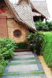Casa tradizionale in Java ad ovest, Indonesia fotografia stock