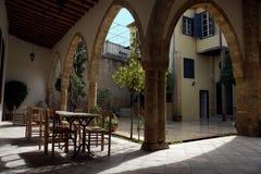 Casa tradizionale a Nicosia Immagine Stock Libera da Diritti