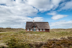 Casa tradizionale in Sonderho su Fano Danimarca Fotografia Stock