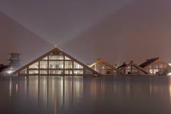 Casa triangular Fotos de archivo