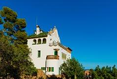 Casa Trias, Park Güell, Barcelona, Royalty Free Stock Photography