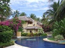 Casa tropical Foto de archivo libre de regalías