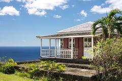 Casa tropical fotos de archivo