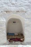 Casa Tunísia da caverna Imagens de Stock Royalty Free