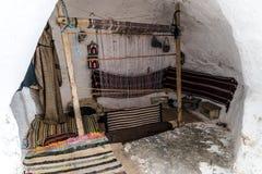 Casa Tunísia da caverna Imagem de Stock
