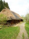 Casa ucraniana na floresta Fotos de Stock
