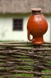Casa ucraniana tradicional Fotografia de Stock