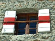 Casa - una ventana abierta Imágenes de archivo libres de regalías